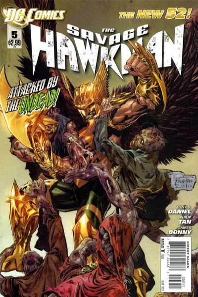 Savage Hawkman #5 comic books - cover scans photos Savage Hawkman #5 comic books - covers, picture gallery