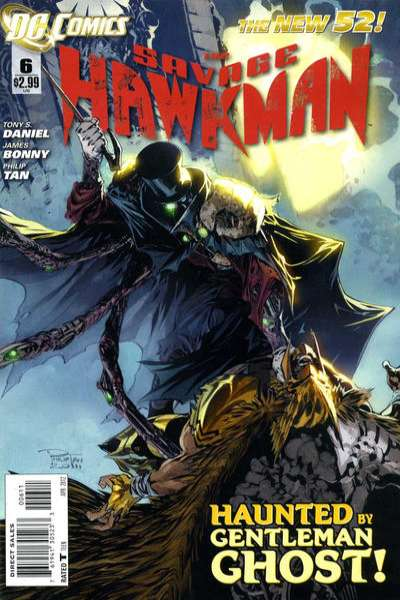Savage Hawkman #6 comic books - cover scans photos Savage Hawkman #6 comic books - covers, picture gallery