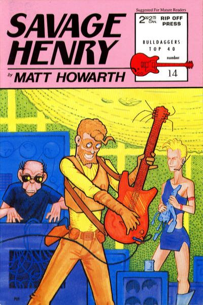 Savage Henry #14 comic books for sale
