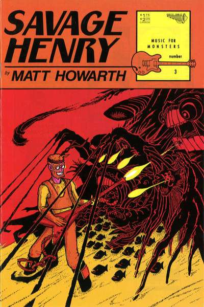 Savage Henry #3 comic books for sale
