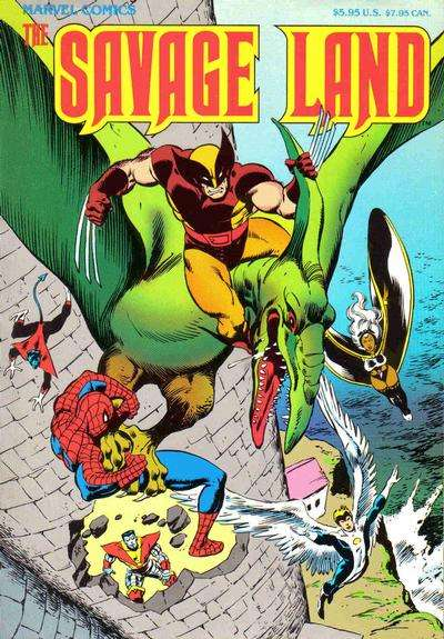 Savage Land #1 comic books - cover scans photos Savage Land #1 comic books - covers, picture gallery