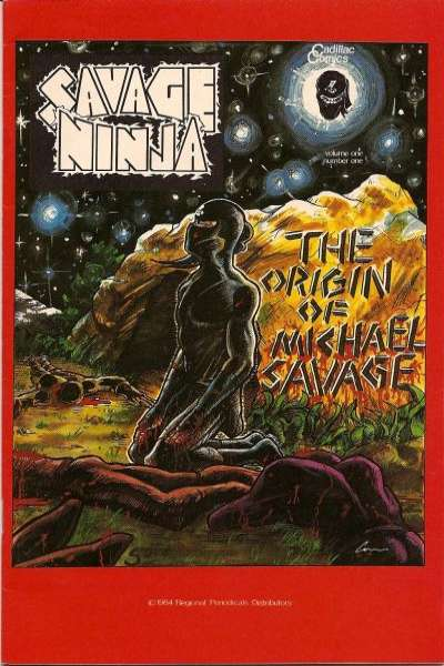 Savage Ninja #1 comic books - cover scans photos Savage Ninja #1 comic books - covers, picture gallery