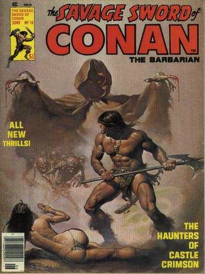 Savage Sword of Conan #12 Comic Books - Covers, Scans, Photos  in Savage Sword of Conan Comic Books - Covers, Scans, Gallery