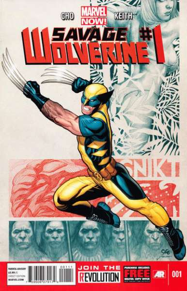 Savage Wolverine #1 Comic Books - Covers, Scans, Photos  in Savage Wolverine Comic Books - Covers, Scans, Gallery