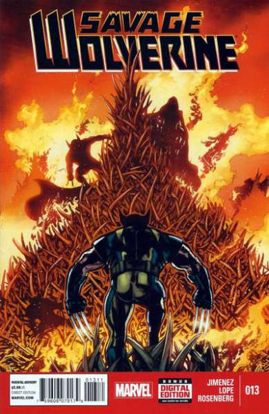 Savage Wolverine #13 Comic Books - Covers, Scans, Photos  in Savage Wolverine Comic Books - Covers, Scans, Gallery