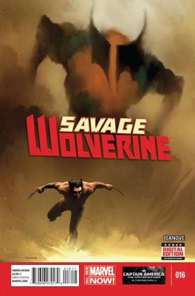 Savage Wolverine #16 comic books - cover scans photos Savage Wolverine #16 comic books - covers, picture gallery