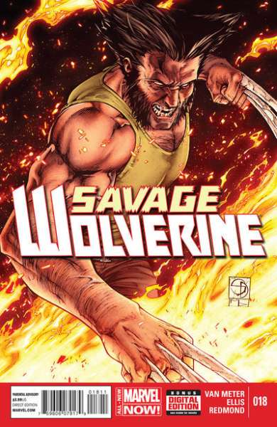 Savage Wolverine #18 comic books - cover scans photos Savage Wolverine #18 comic books - covers, picture gallery