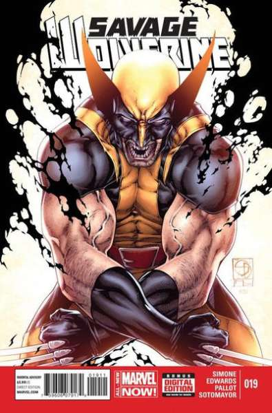 Savage Wolverine #19 comic books - cover scans photos Savage Wolverine #19 comic books - covers, picture gallery