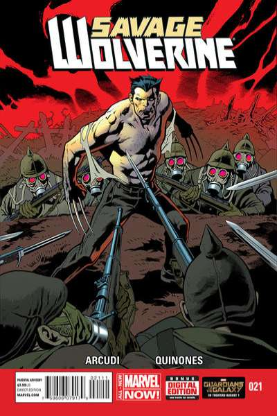 Savage Wolverine #21 comic books for sale