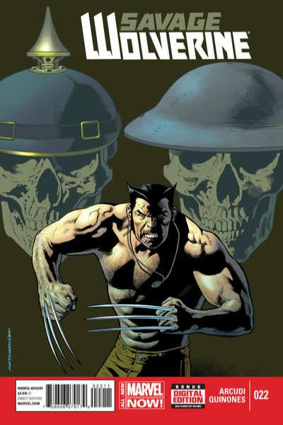Savage Wolverine #22 comic books for sale