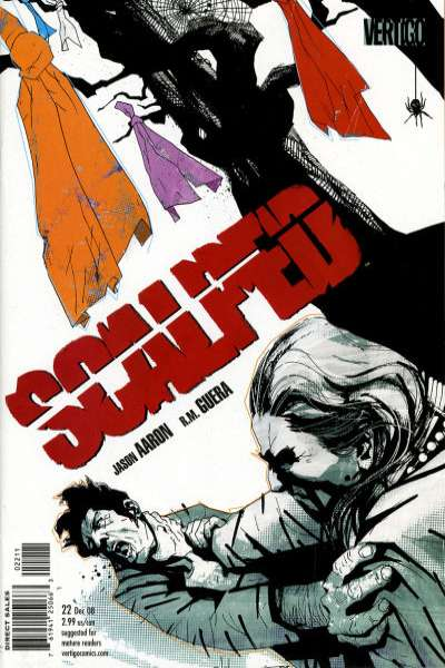 Scalped #22 Comic Books - Covers, Scans, Photos  in Scalped Comic Books - Covers, Scans, Gallery