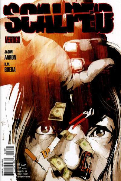 Scalped #23 comic books for sale