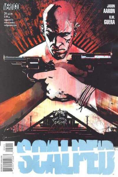 Scalped #29 Comic Books - Covers, Scans, Photos  in Scalped Comic Books - Covers, Scans, Gallery