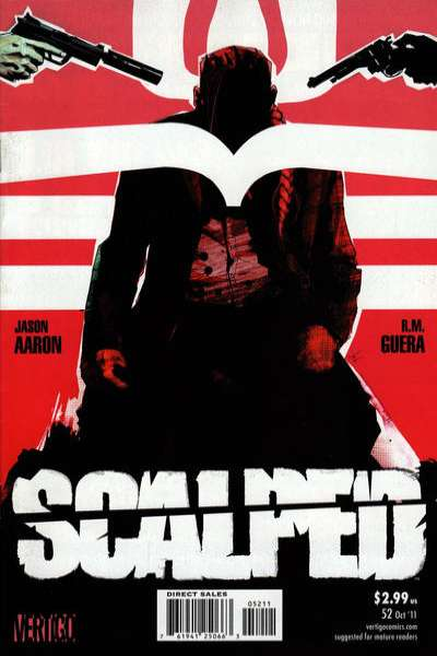 Scalped #52 comic books for sale