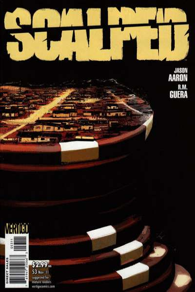 Scalped #53 Comic Books - Covers, Scans, Photos  in Scalped Comic Books - Covers, Scans, Gallery