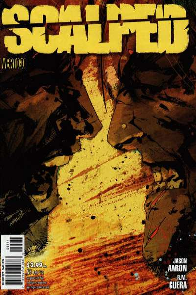 Scalped #55 comic books for sale