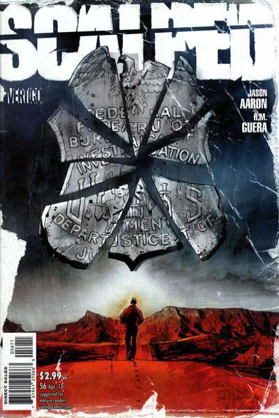 Scalped #56 Comic Books - Covers, Scans, Photos  in Scalped Comic Books - Covers, Scans, Gallery