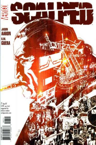 Scalped #7 comic books for sale