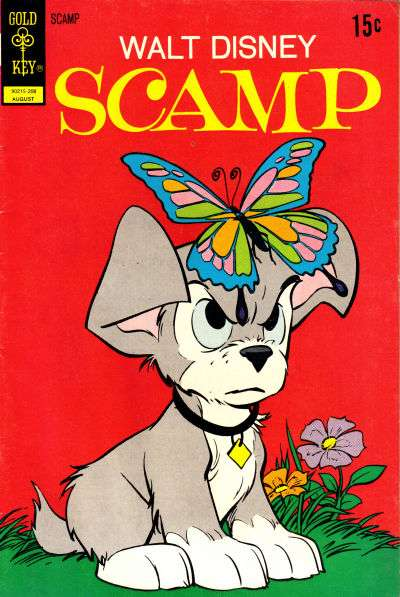 Scamp #8 comic books for sale