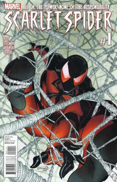 Scarlet Spider #1 Comic Books - Covers, Scans, Photos  in Scarlet Spider Comic Books - Covers, Scans, Gallery