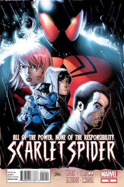 Scarlet Spider #12 comic books - cover scans photos Scarlet Spider #12 comic books - covers, picture gallery