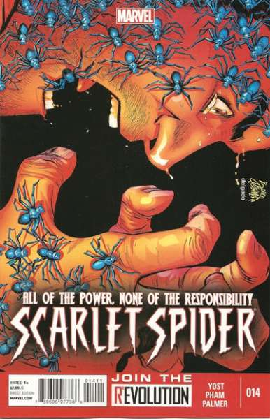 Scarlet Spider #14 comic books - cover scans photos Scarlet Spider #14 comic books - covers, picture gallery