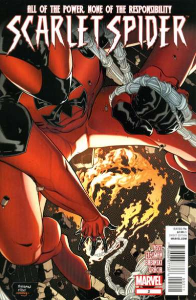 Scarlet Spider #2 Comic Books - Covers, Scans, Photos  in Scarlet Spider Comic Books - Covers, Scans, Gallery