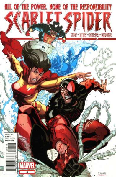 Scarlet Spider #8 Comic Books - Covers, Scans, Photos  in Scarlet Spider Comic Books - Covers, Scans, Gallery