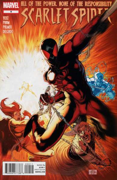 Scarlet Spider #9 Comic Books - Covers, Scans, Photos  in Scarlet Spider Comic Books - Covers, Scans, Gallery