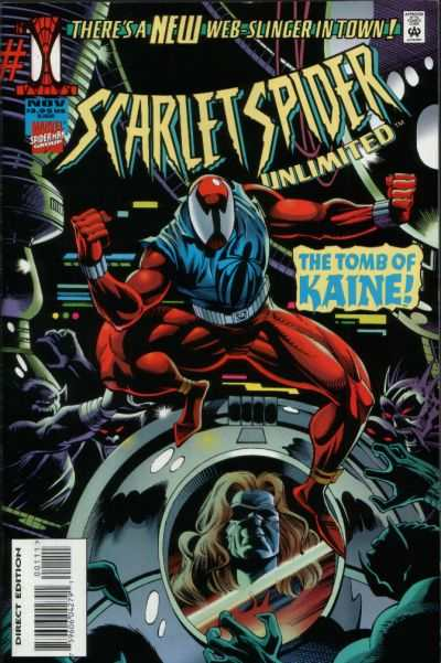 Scarlet Spider Unlimited #1 comic books - cover scans photos Scarlet Spider Unlimited #1 comic books - covers, picture gallery