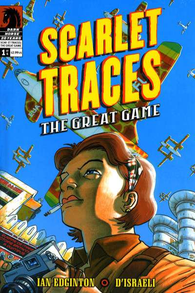 Scarlet Traces: The Great Game comic books