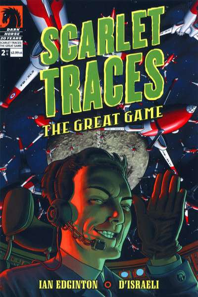 Scarlet Traces: The Great Game #2 comic books - cover scans photos Scarlet Traces: The Great Game #2 comic books - covers, picture gallery