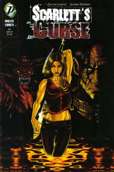 Scarlett's Curse #0 comic books for sale