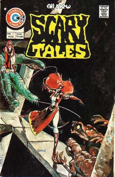 Scary Tales comic books