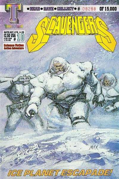 Scavengers #10 comic books for sale