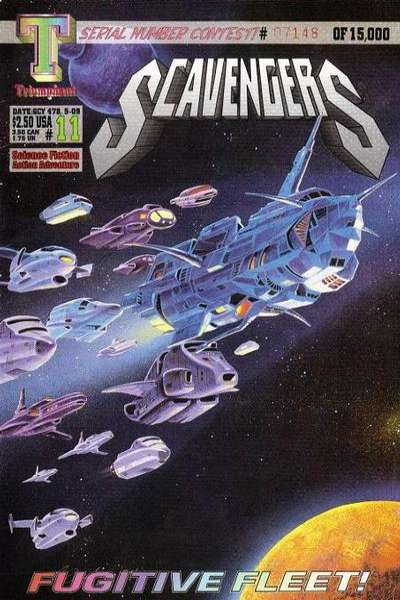 Scavengers #11 Comic Books - Covers, Scans, Photos  in Scavengers Comic Books - Covers, Scans, Gallery