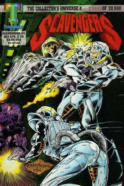 Scavengers #2 Comic Books - Covers, Scans, Photos  in Scavengers Comic Books - Covers, Scans, Gallery