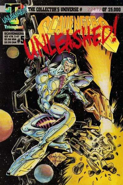 Scavengers #5 Comic Books - Covers, Scans, Photos  in Scavengers Comic Books - Covers, Scans, Gallery