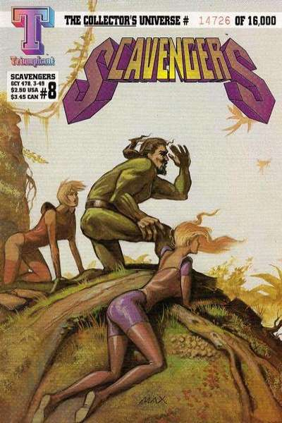 Scavengers #8 comic books for sale