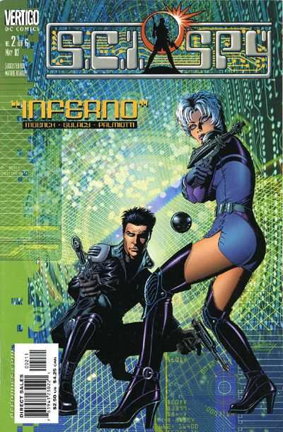 Sci-Spy #2 Comic Books - Covers, Scans, Photos  in Sci-Spy Comic Books - Covers, Scans, Gallery