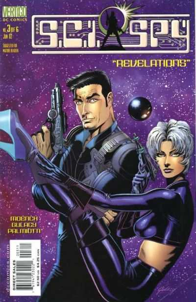 Sci-Spy #3 Comic Books - Covers, Scans, Photos  in Sci-Spy Comic Books - Covers, Scans, Gallery
