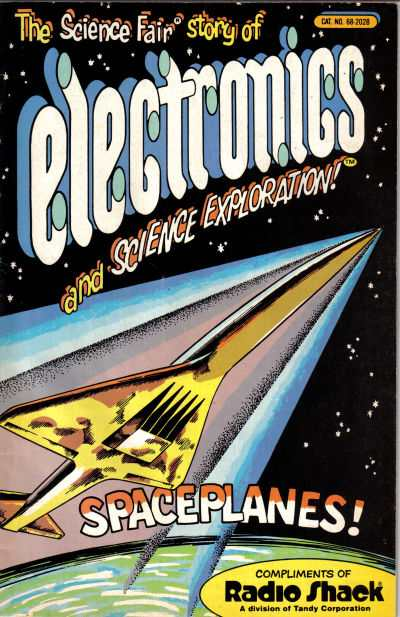 Science Fair Story of Electronics: Spaceplanes comic books