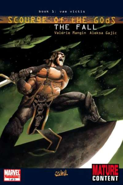 Scourge of the Gods #1 comic books - cover scans photos Scourge of the Gods #1 comic books - covers, picture gallery