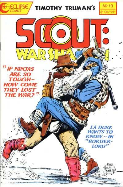 Scout: War Shaman #13 Comic Books - Covers, Scans, Photos  in Scout: War Shaman Comic Books - Covers, Scans, Gallery