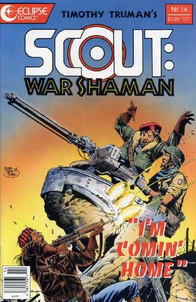 Scout: War Shaman #14 comic books - cover scans photos Scout: War Shaman #14 comic books - covers, picture gallery