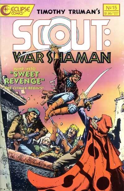 Scout: War Shaman #15 comic books - cover scans photos Scout: War Shaman #15 comic books - covers, picture gallery