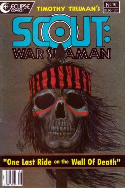 Scout: War Shaman #16 Comic Books - Covers, Scans, Photos  in Scout: War Shaman Comic Books - Covers, Scans, Gallery