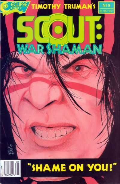 Scout: War Shaman #9 Comic Books - Covers, Scans, Photos  in Scout: War Shaman Comic Books - Covers, Scans, Gallery