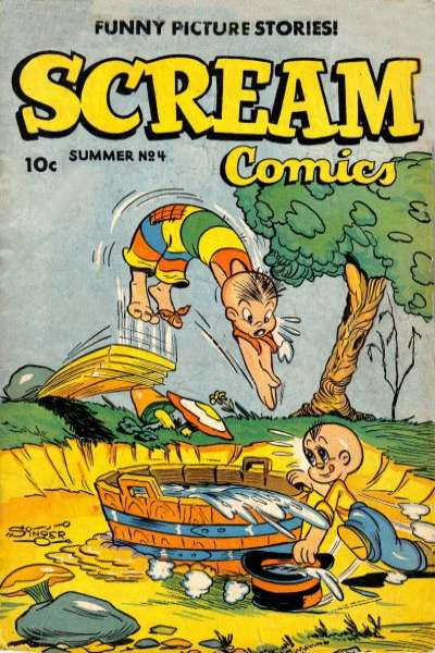 Scream #4 Comic Books - Covers, Scans, Photos  in Scream Comic Books - Covers, Scans, Gallery