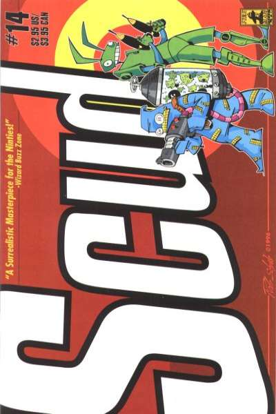 Scud: The Disposable Assassin #14 comic books for sale